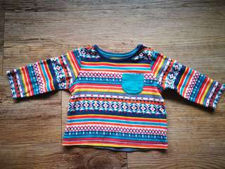 BNWOT Mothercare Baby Ethnic Sweater