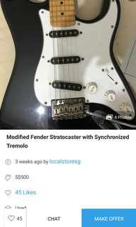 PSA (?) Fake Fender Stratocaster