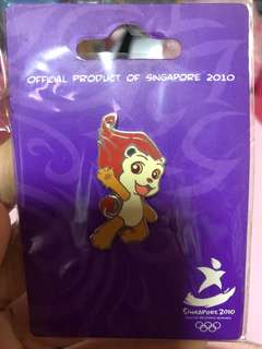 Singapore 2010 Youth Olympics Games pin