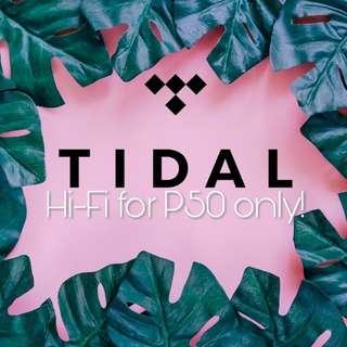 Tidal Hi-fi Premium