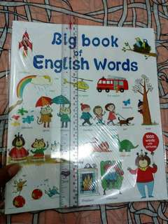 Educational Book: Big Book of English Words#2