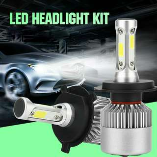Brandnew H4 Hi Lo3sided Led Headlight