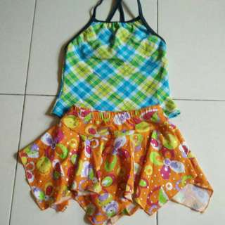 Girl Swimming Suit