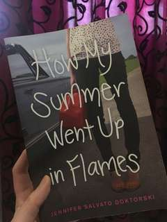 Novel How My Summer Went Up in Flames