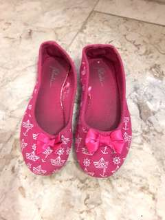 Fuschia Doll Shoes
