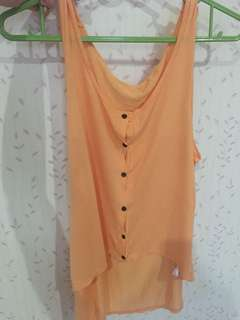 H&M orange top
