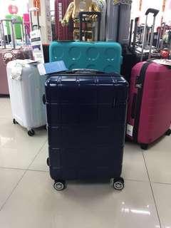 阿豪 台灣品牌 Travel Plus 四方格 款 大孖轆 可擴大 20吋 行李箱