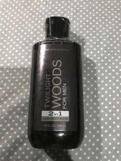 Bath and Body works body wash for men