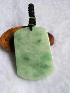 GSS(u.p$188)Jadeite pendants 翡翠无事牌