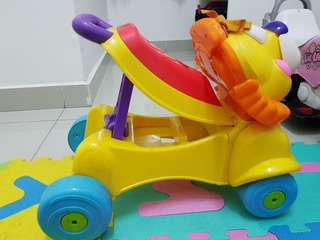 Fisher Price Push Sit-on Walker