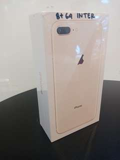 Iphone 8 plus 64gb bisa kredit murah, promo free 1x angsuran