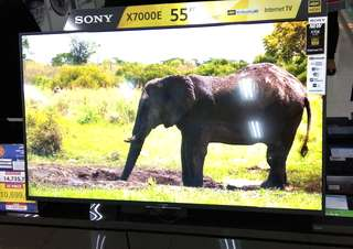 "Kredit SONY Internet TV 55"" KD55X7000E Tanpa Kartu Kredit"