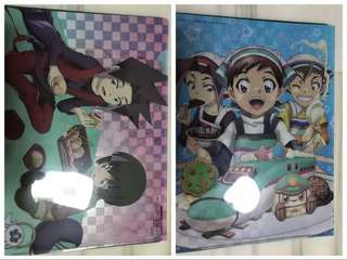 2-sided anime poster + 1 Clear file