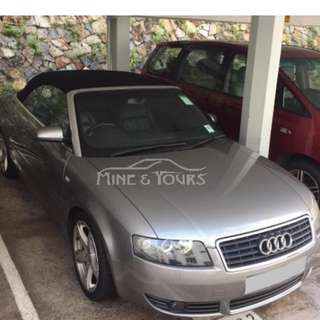 2004 Audi A4 Cabriolet 1.8T Sport