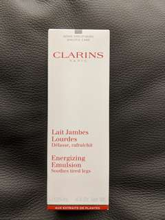 Brand new Clarins Energizing Emulsion 125ml