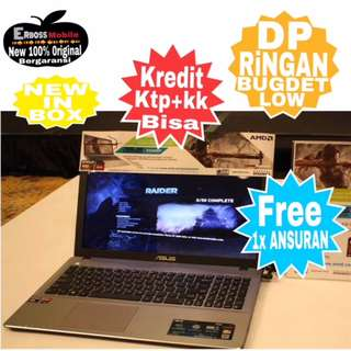 "Asus X540YA-BX101D AMD 2/500GB 15"" Kredit Dp 700rb ditoko Ktp+kk call/wa;081905288895"
