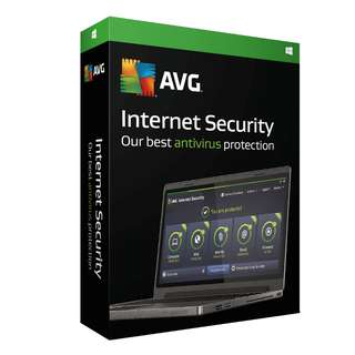 🔥AVG Internet Security 2018 for 1PC or 3PCs 1-year🔥