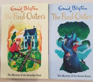 Enid blyton The Find Outers