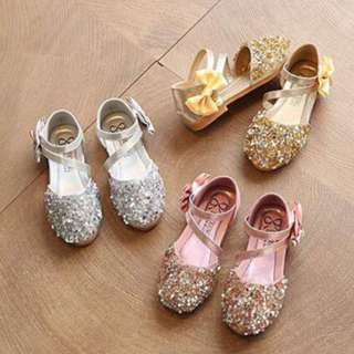 SHOES GLITTER KIDS ~READY STOK~