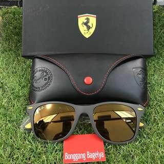 Authentic Rayban Ferrari Edition Shades
