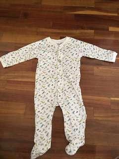 Baby clothes baby romper babymexx romper baby sleepsuit cotton romper (3-6 months 62 cm)