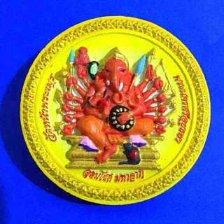 Phra Pikanet Amulet Be2553 blessed by top masters