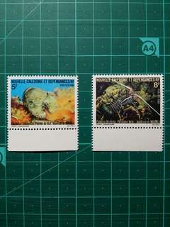 [均一價$10]1979 法屬 新喀里多尼亞 蟹 新票一套