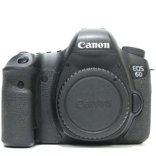 Canon EOS 6D DSLR Body Only (SC 33k)