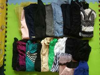 Preloved Clothes for take all