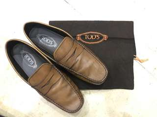 TOD'S City Gommino Loafer In Medium Brown