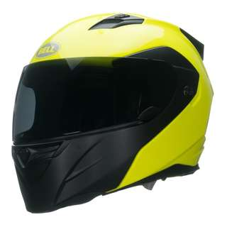 Bell Revolver Evo SIZE X-LARGE ONLY Full Face Motorcycle Motorbike Convertible Modular Helmet Optimus Hi-Vis Yellow Black