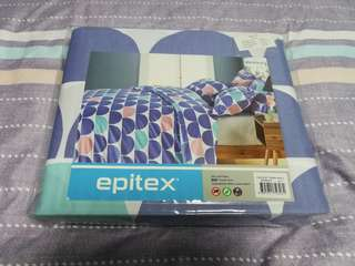 Epitex King Bedsheet with Quilt Cover