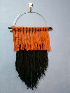 Double coloured wallhanging