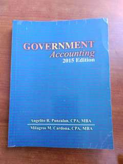 Gov accounting by Punzalan
