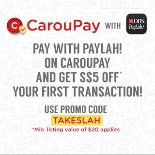 🚚 [use $5 Coupon here ]Accepts Caroupay