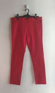 Plus Size Candy Pants - Red