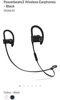 Beats Powerbeats 3 Wireless Bluetooth Earphones