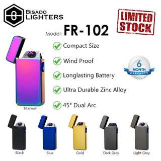45° Dual Arc Electric Lighter