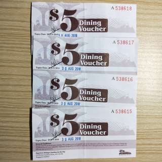 Garden by the Bay. Dining Voucher