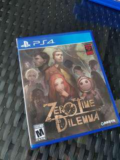 🚚 PS4 Zero Time Dilemma