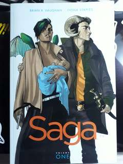 Graphic novel: SAGA Volume 1 for PHP350