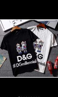 D&G Tshirt *Authentic Quality