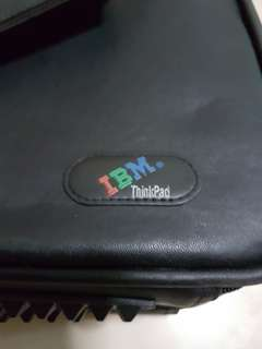 Orginal IBM laptop briefcase    #sam3