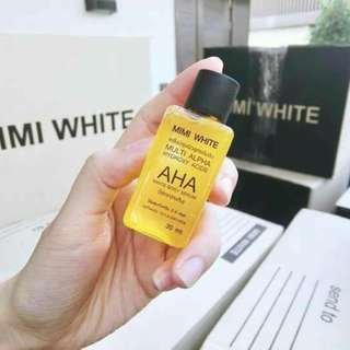 🚚 MIMI White Multi Alpha AHA White Body Serum
