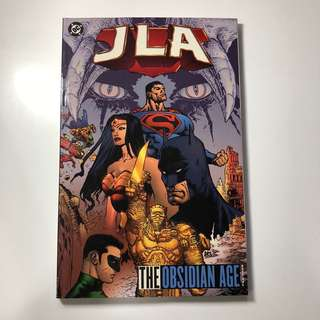 DC JLA: THE OBSIDIAN AGE book one