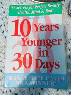 10 years younger in 30 days