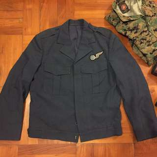 South African Air Force ARMY jacket A.S.R.S Ensign 1977 SAAF