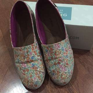 Call It Spring Floral Print Slip On Shoes
