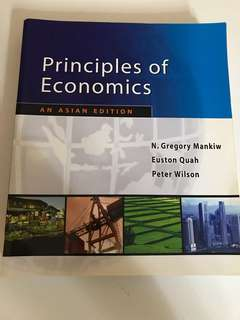 Principles of Economics: An Asian Edition
