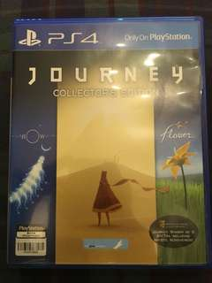 PS4 Journey Collector's Edition